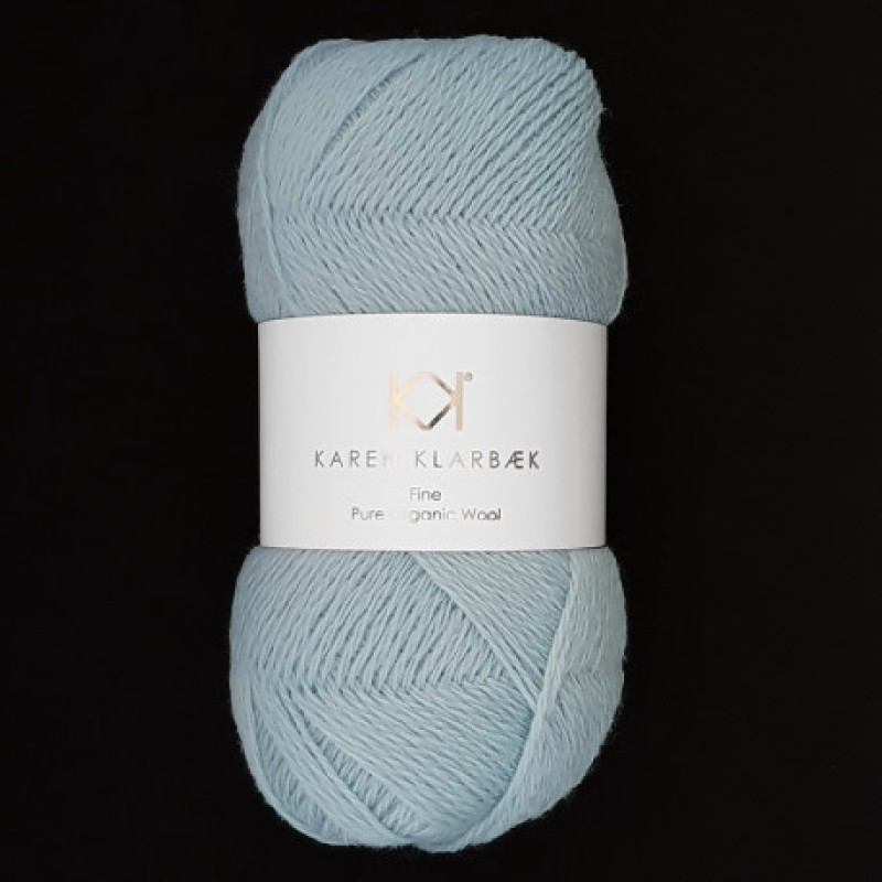 2505 Light Blue - Fine Pure wool