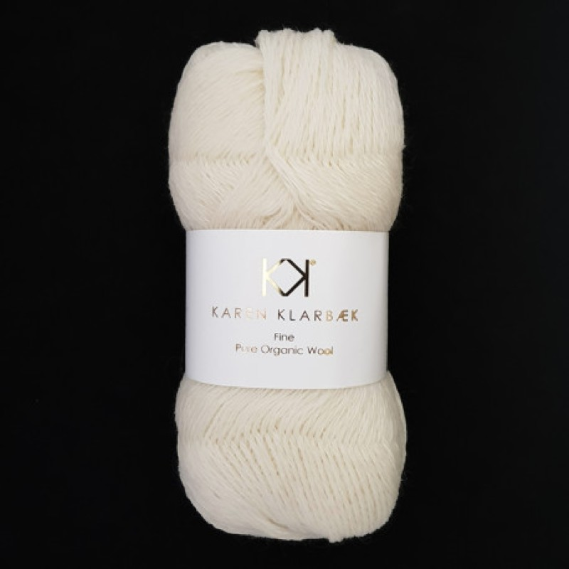 2506 Nature White - Fine Pure Wool