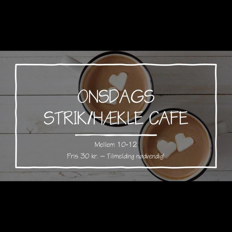 Strikke/hæklecafe ONSDAGE 10-12