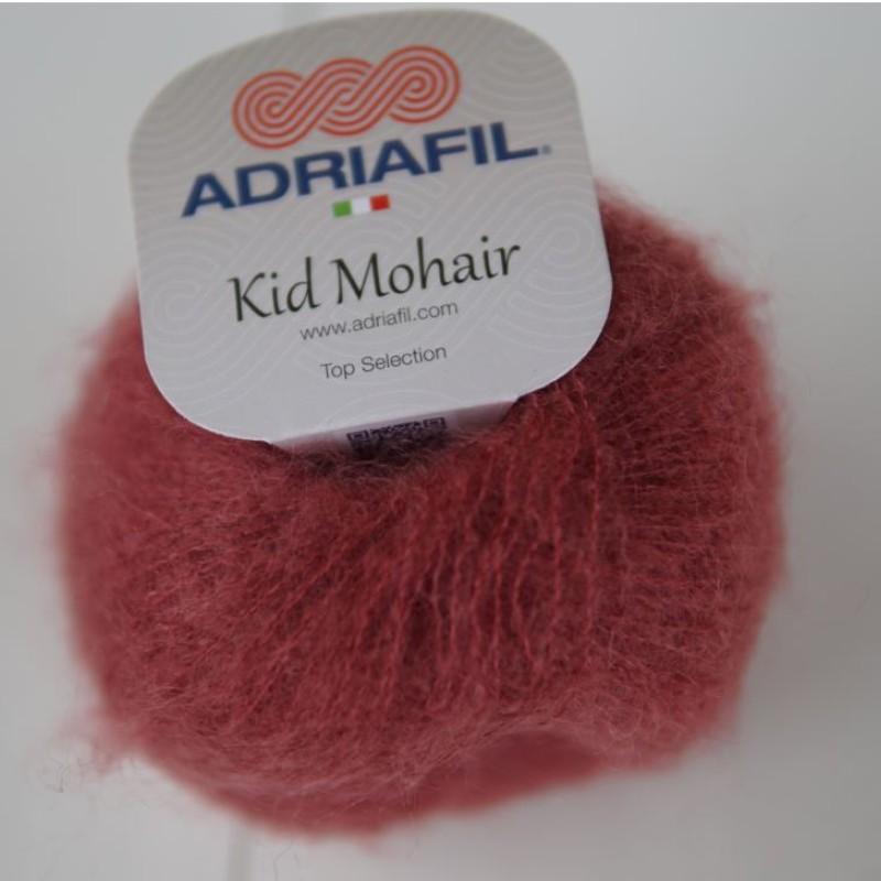 Støvet Rød - Kid Mohair