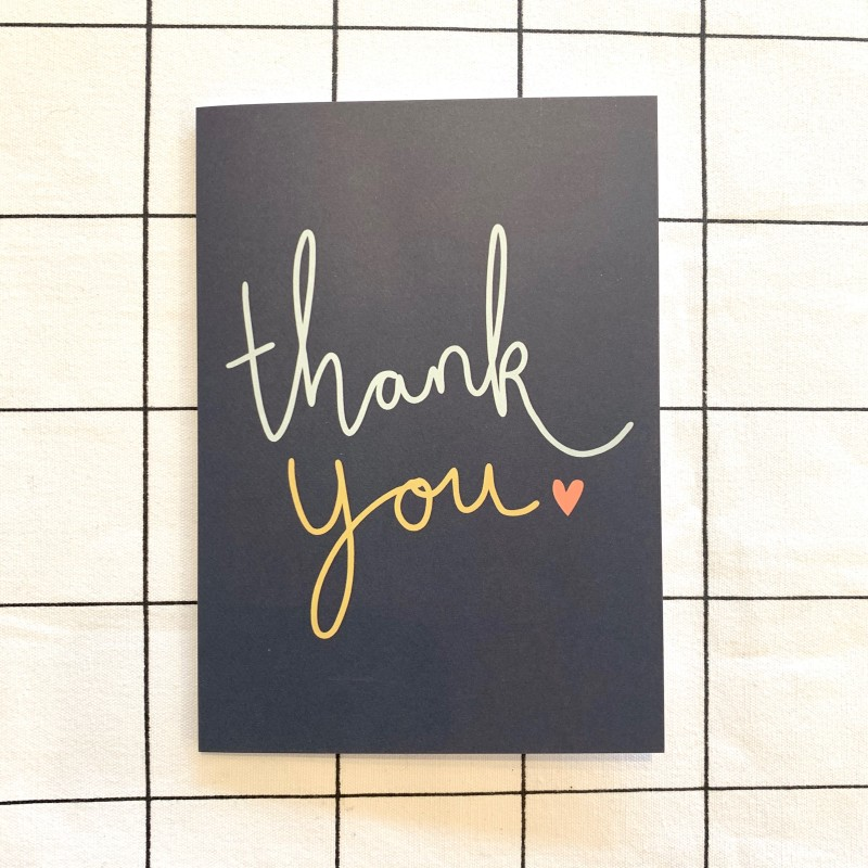 Thank You Card by Harriet Emily