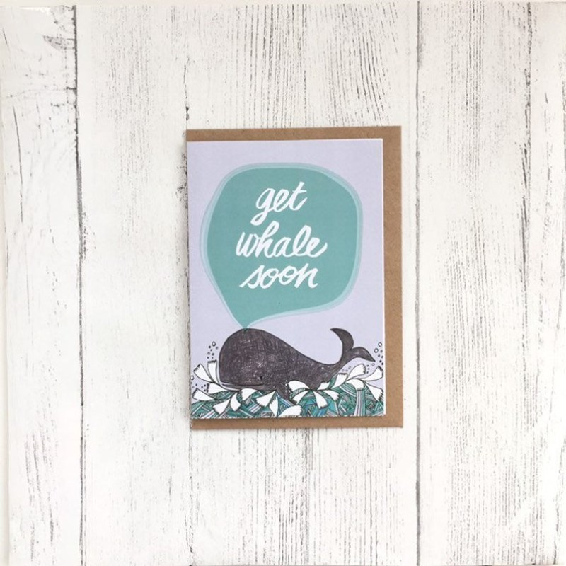 Get whale soon card by OhHelloShan