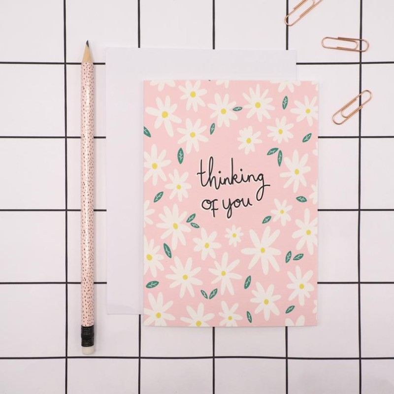 Thinking of You Card by Harriet Emily