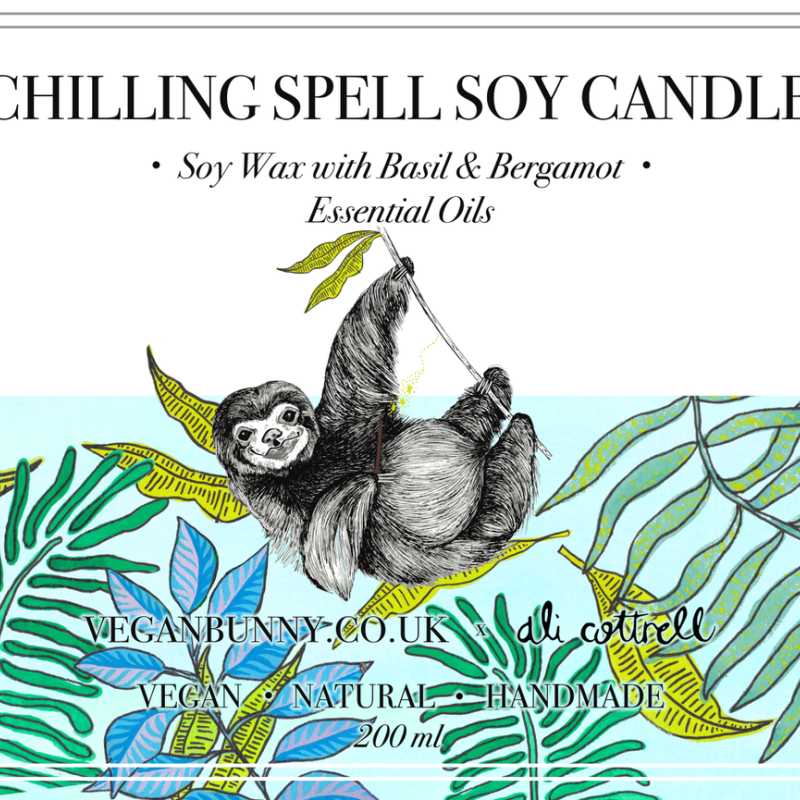 Chilling Spell Soy Candle by Vegan Bunny