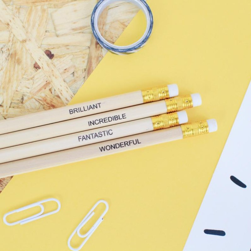 Positive Pencils – Pack of 4 by HahOnline