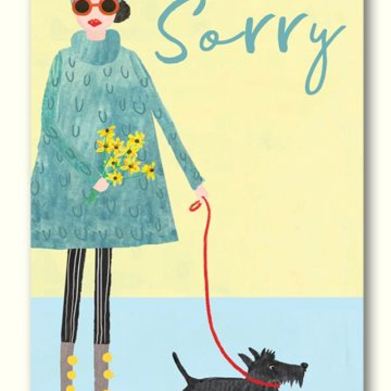 Sorry Card by Lou Mills (LIL16)