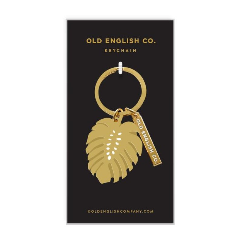 MONSTERA  KEYRING by Old English Co.