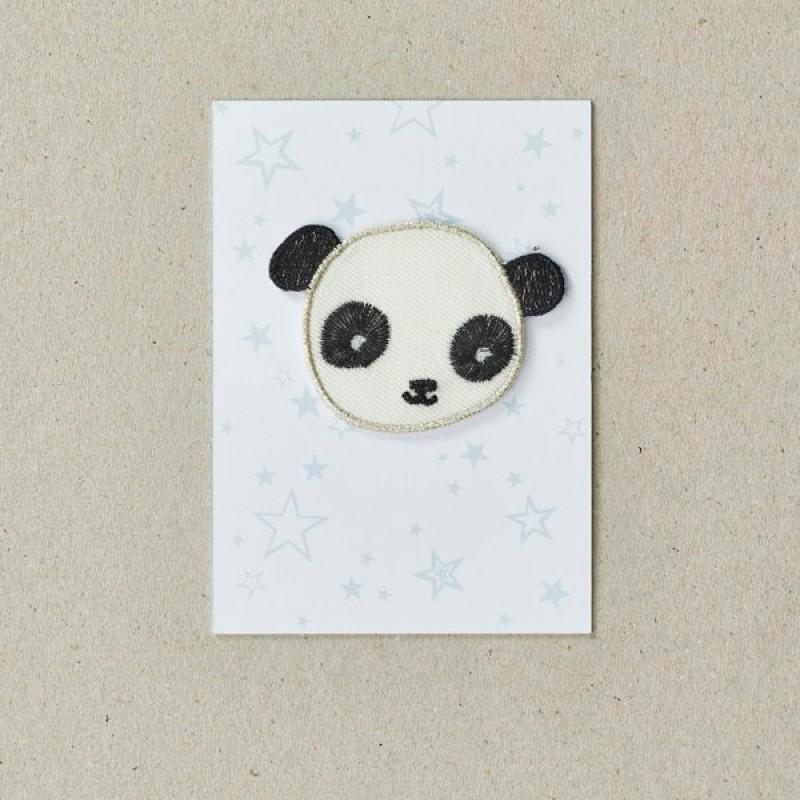 Panda Iron on Patch By Petra Boase