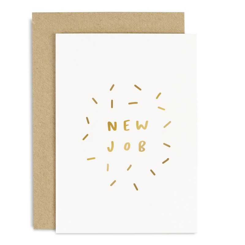 New Job Card by Old English Co.