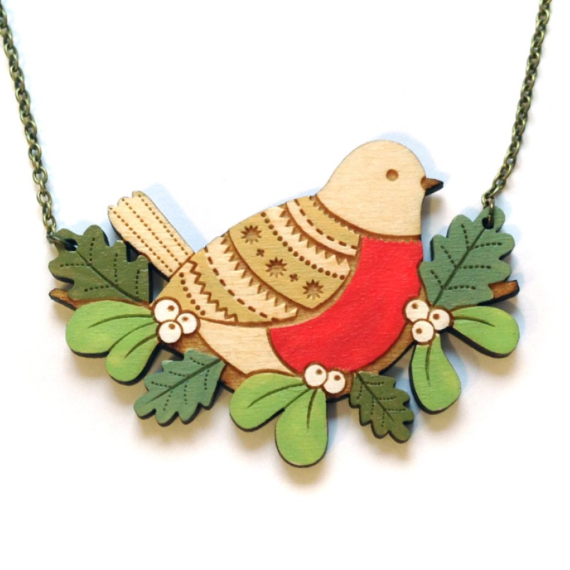 Robin Necklace by Layla Amber