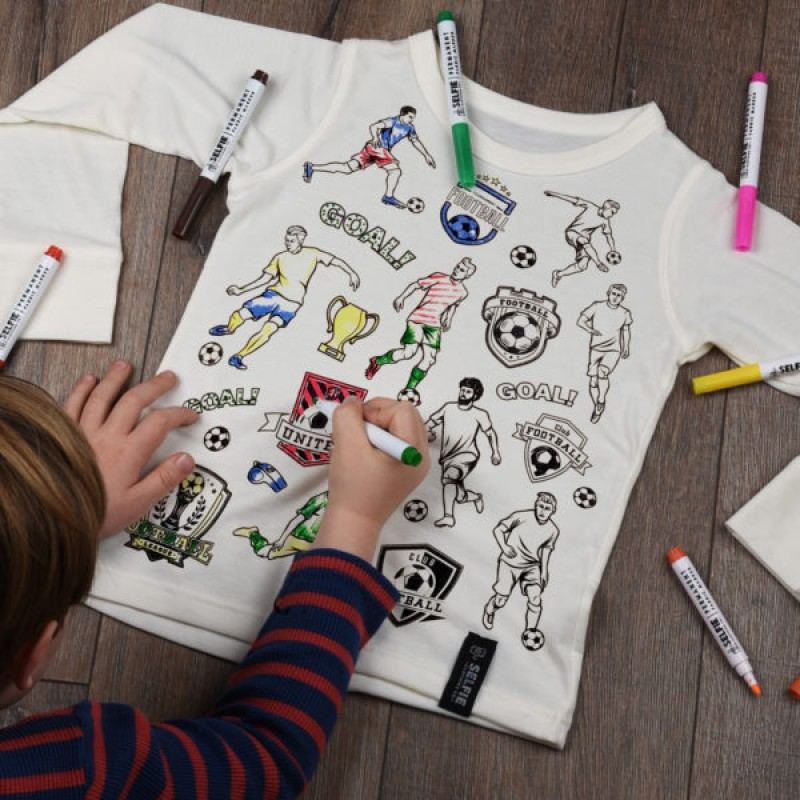 Football Heroes Colour In Top by Selfie Clothing