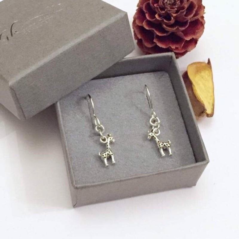 Giraffe Drop Earrings by Gina Kim Jewellery