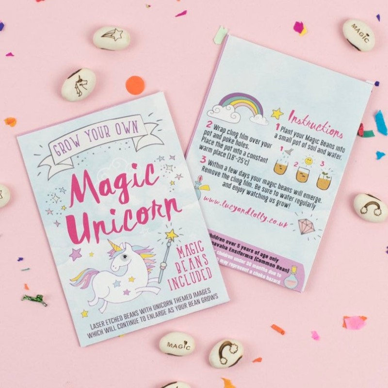 Magical unicorn beans by Lucy and Lolly