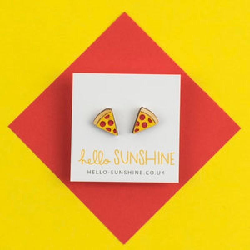 PIZZA EARRINGS by Hello Sunshine