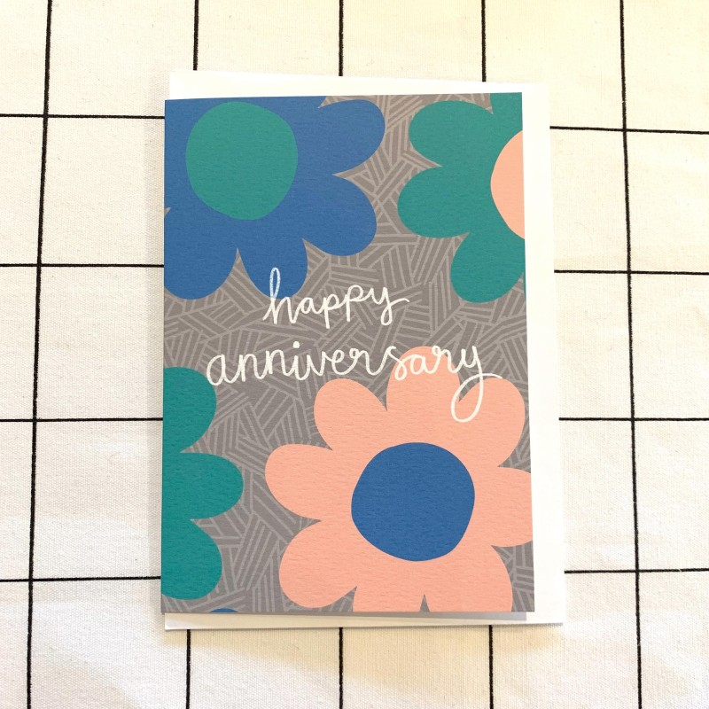 Happy Anniversary Card by Harriet Emily