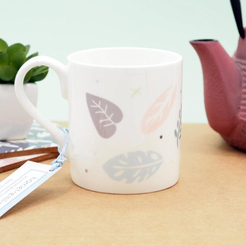 Jungle Pattern Bone China Mug by Harriet Emily