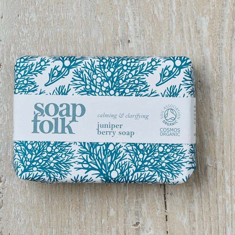 Juniper Berry Soap by Soap Folk