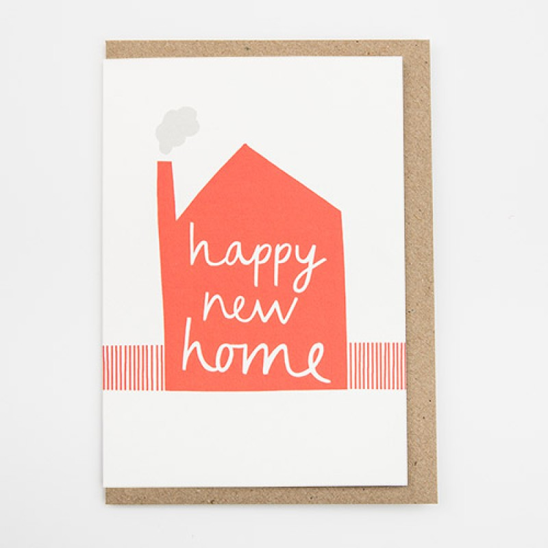 'Happy New Home' Card by Alison Hardcastle