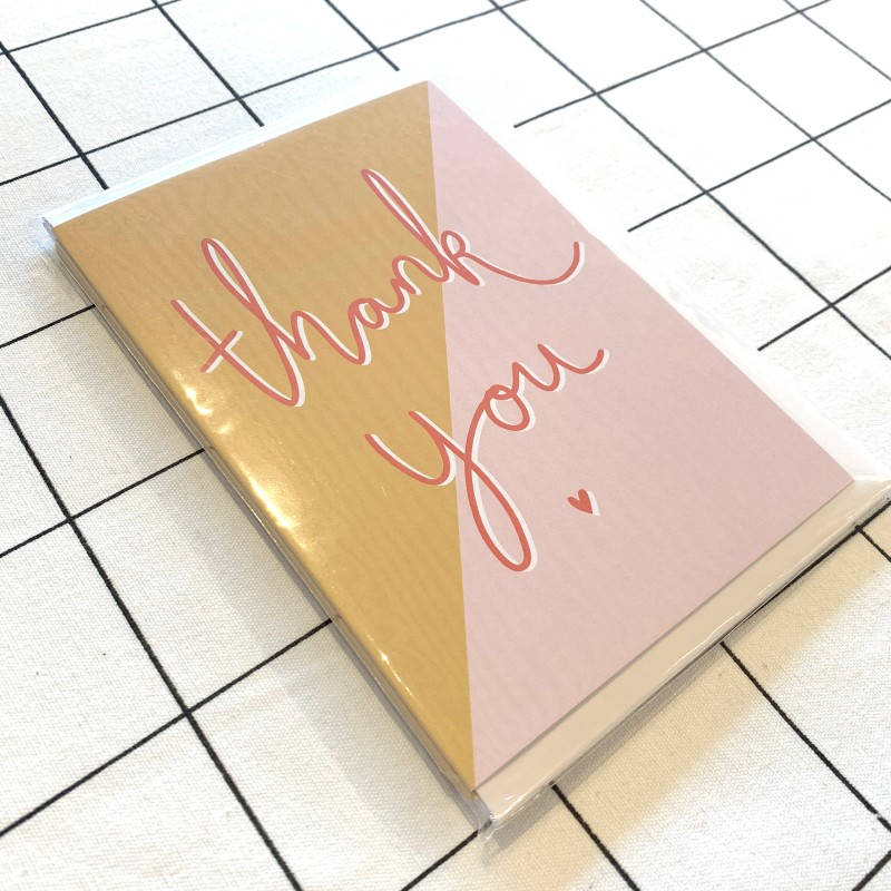 Thank You Cards (4 PACK) by Harriet Emily