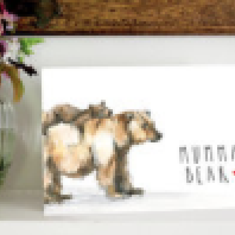 Mumma Bear Card by Snowtap