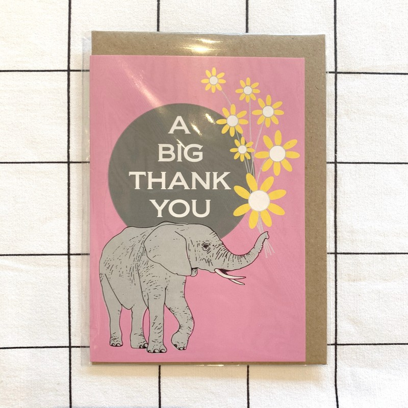 Thank You Card by Oh Hello Shan