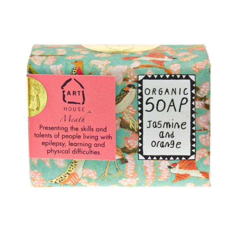 Jasmine & Orange Organic Soap by Arthouse