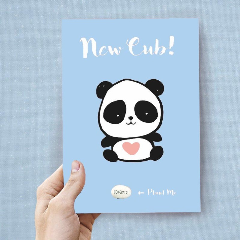 New Cub (BLUE) Card by Lucy and Lolly