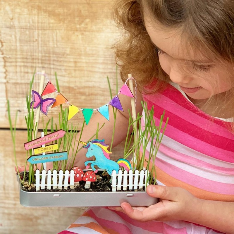 MAKE YOUR OWN MAGICAL GARDEN KIT by Cotton Twist