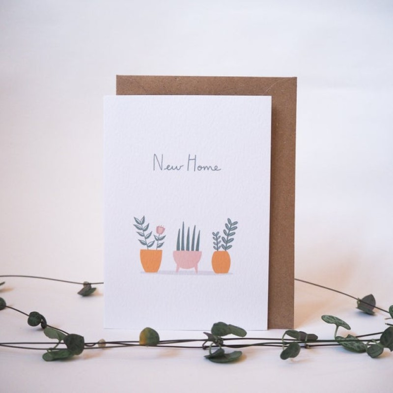 New Home Card by Lottie Illustration