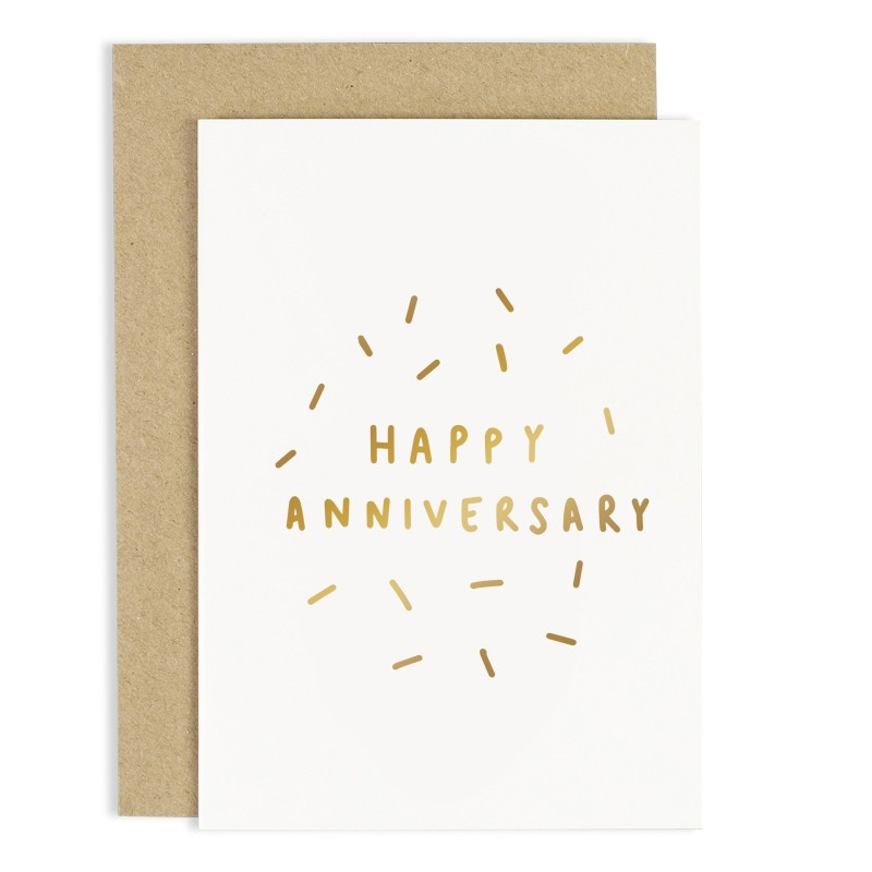 Happy Anniversary Card by Old English Co.