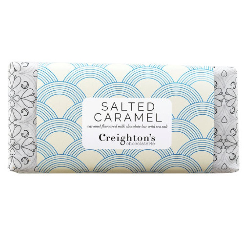 Salted Caramel Chocolate Bar by Creighton's Chocolaterie