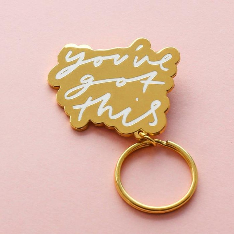 You've got this keyring by Old English Co.