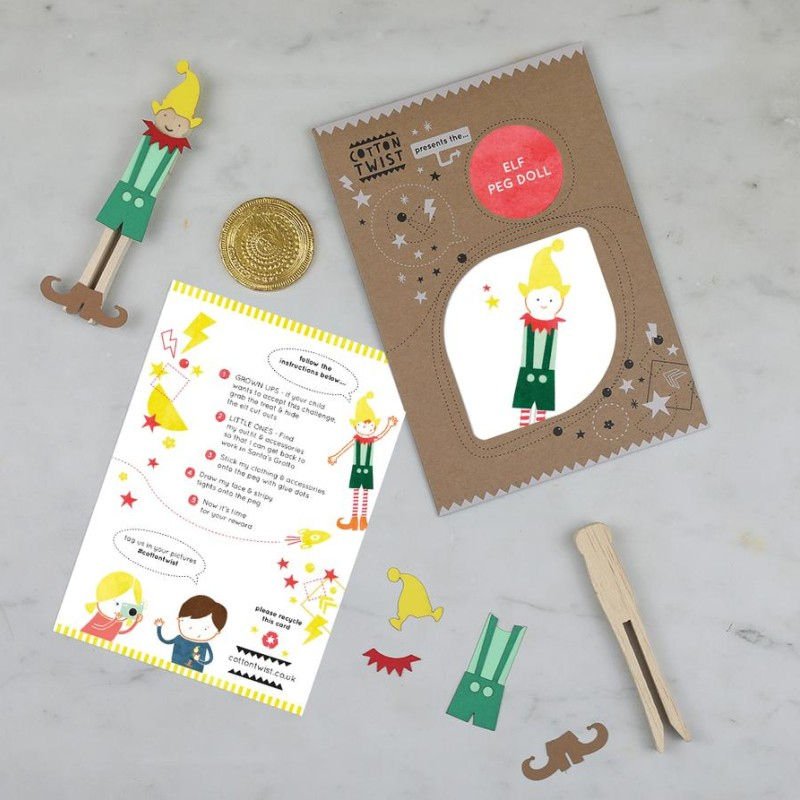 GO ON AN ELF TREASURE HUNT by Cotton Twist