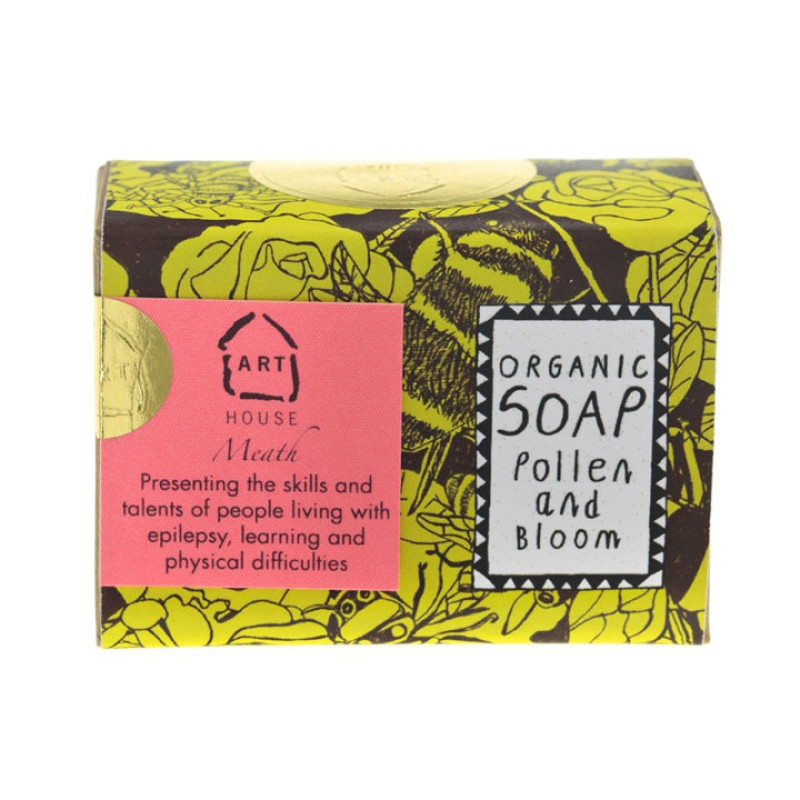 Pollen & Bloom Organic Soap by Arthouse