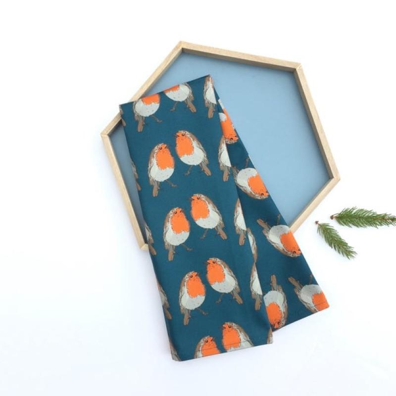 Robin Tea Towel by Oh Hello Shan