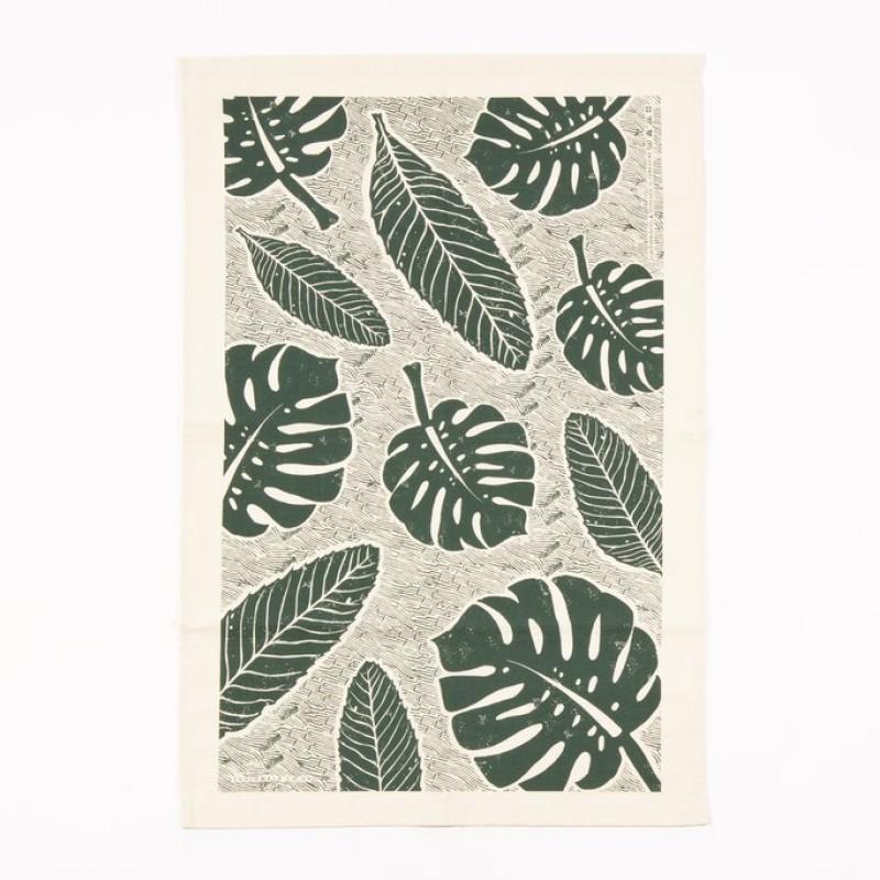 Leaf Tea Towel by Studio Wald
