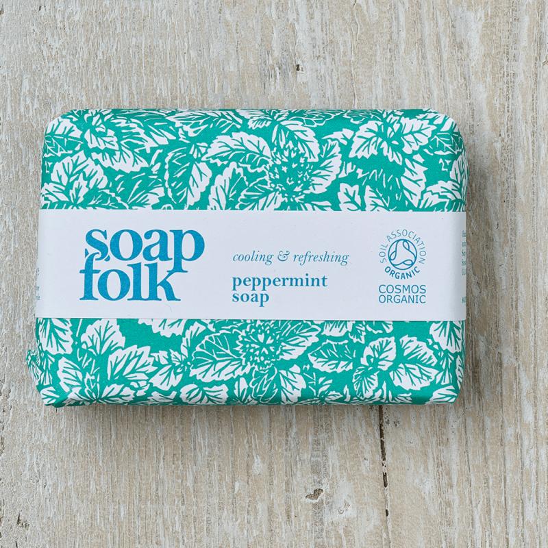 Peppermint Soap by Soap Folk