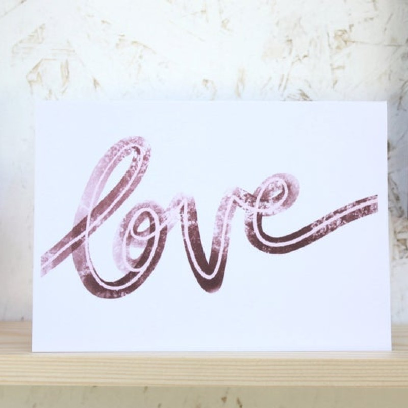 Love card by Daphne Rosa