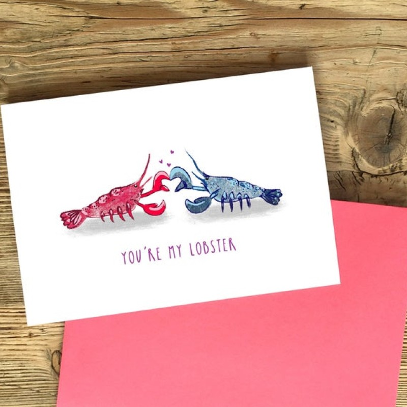 You're My Lobster Card by Snowtap