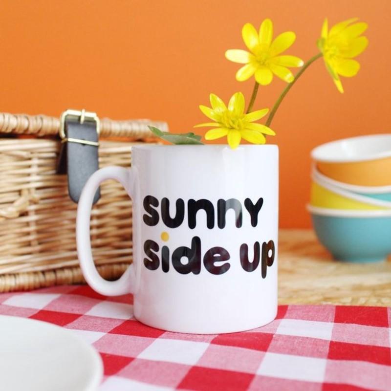 Sunny Side Up breakfast mug - 12oz by HahOnline