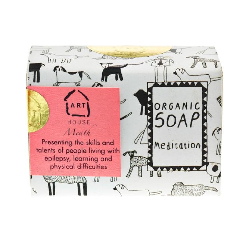 Meditation, Dog Pattern Organic Soap by Arthouse