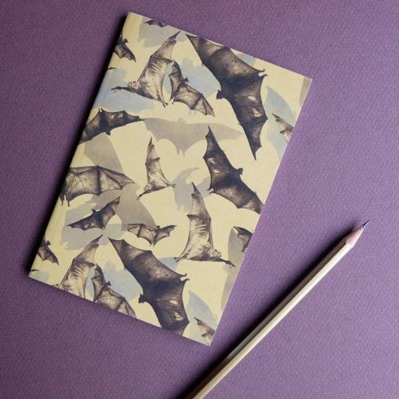 Bats A6 Notebook by Deborah Panesar Illustrations