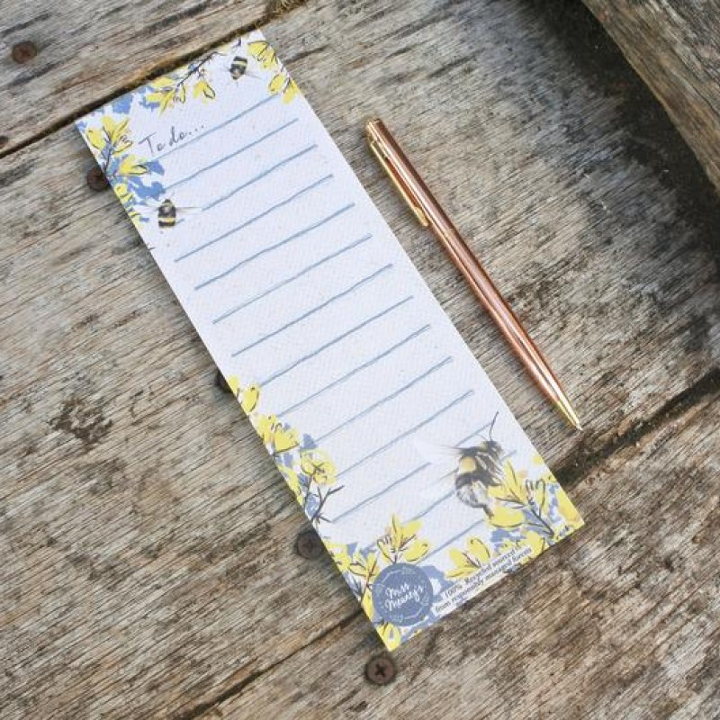 Magnetic Bee To-Do Notepad By Miss Meaney's
