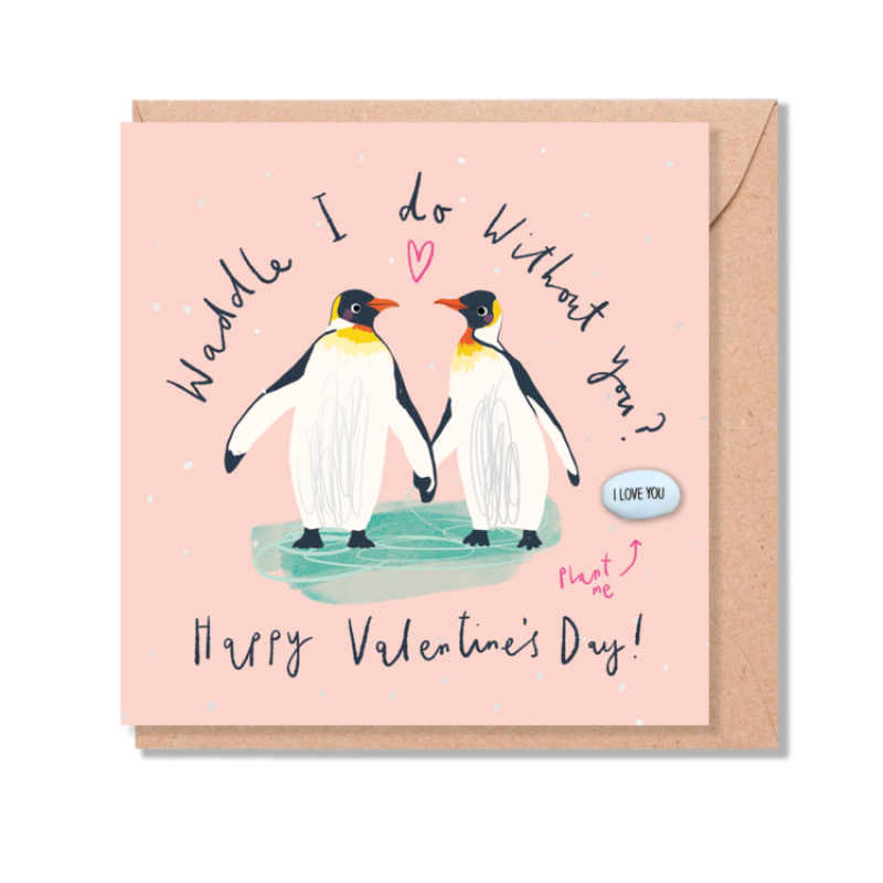 WADDLE I DO WITHOUT YOU? Card by Lucy and Lolly