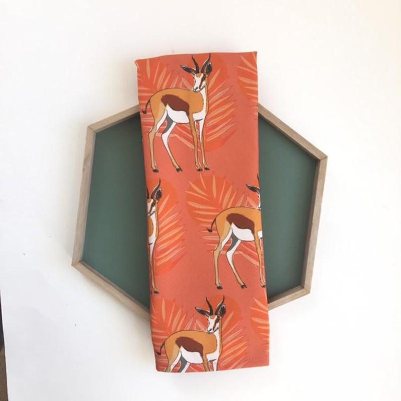 Springbok, Antelope Tea Towel by OhHelloShan