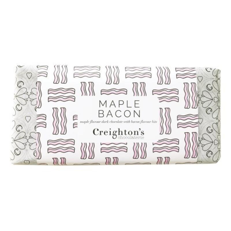 Maple Bacon Chocolate Bar by Creighton's Chocolaterie