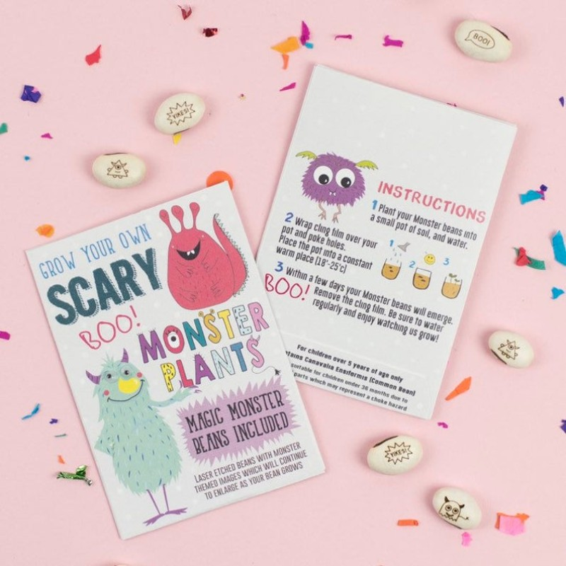 Scary Monster Beans by Lucy and Lolly