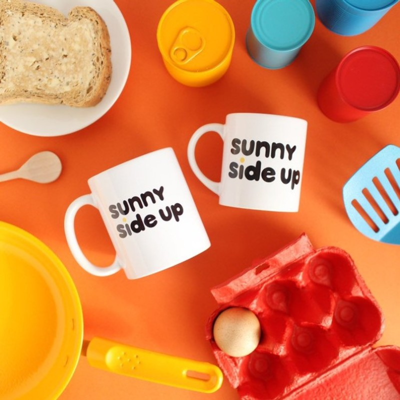 Sunny Side Up MINI breakfast mug – 7oz by HahOnline