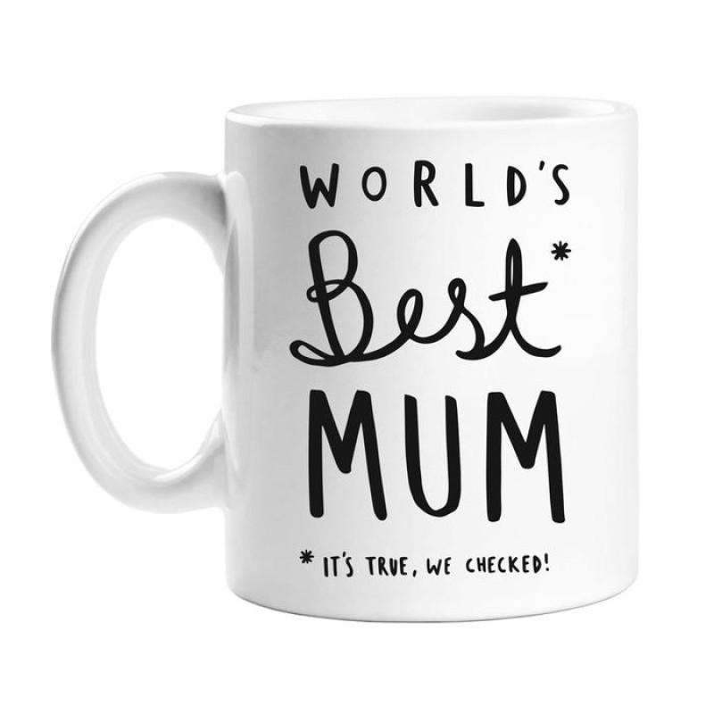 WORLDS BEST MUM MUG by Old English Co.