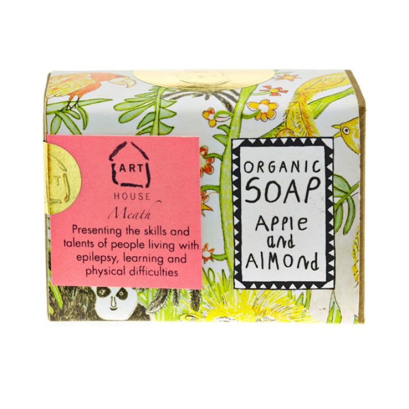 Apple & Almond Organic Soap by Arthouse